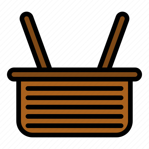 basket, grocery, shop, store icon