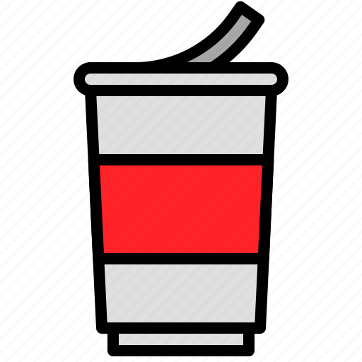 cup, grocery, instant noodles, shop icon