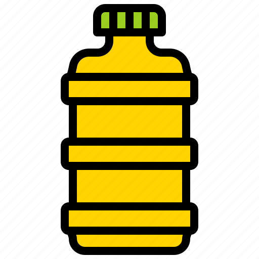 bottle, grocery, oil bottle, plastic bottle, shop icon