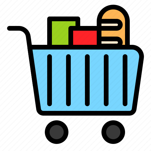 cart, grocery, shop, shopping, supermarket icon