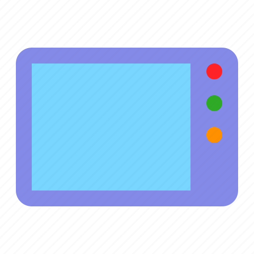 electronic, grocery, microwave, oven, shop icon