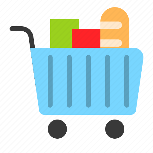 cart, food, grocery, shop, shopping, supermarket icon