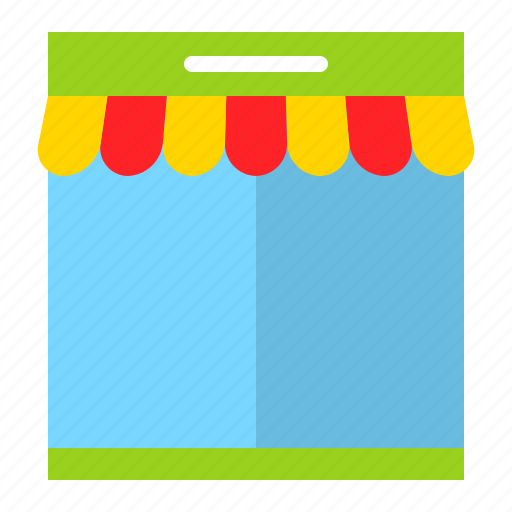 booth, grocery, shop, stall, store icon