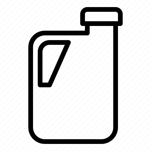 bottle, gallon, grocery, package icon