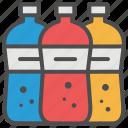 bottles, grocery, retail, shopping, soda, supermarket icon