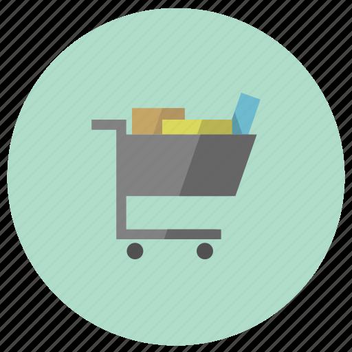 car, cart, checkout icon