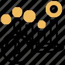 evaluation, indicator, kpi, monitoring, performance icon