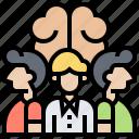 brainstorming, corporate, ideas, teamwork, think icon