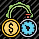 business, efficiency, improve, optimize, process icon