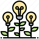 creativity, different, ideas, think, unique icon