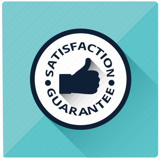 emblem, guarante, guarantee, safe, satisfaction guarantee, thumbs, warranty icon