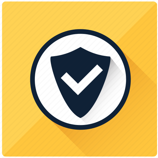accept, brand, guarantee, safe, safety, security, shield icon