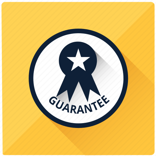 badge, emblem, guarantee, medal, quality, star, warranty icon