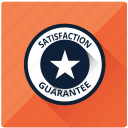 badge, emblem, guarantee, safe, satisfaction, star, warranty icon