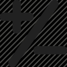 calculate, calculator, math, mathematics, symbols icon