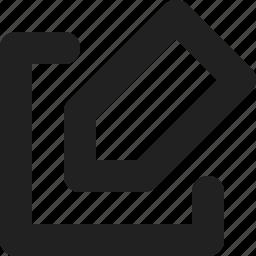 design, edit, file, paper, pencil icon