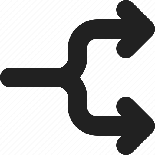 arrow, arrows, direction, flowchart, right icon
