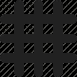 chart, grid icon