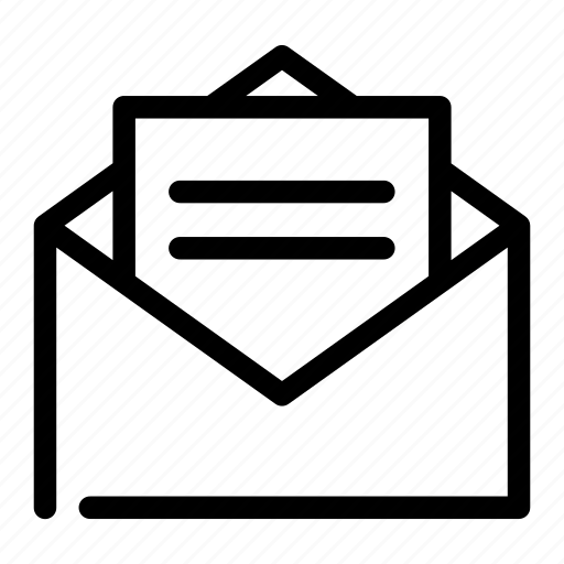 chat, communication, envelope, message, talk icon