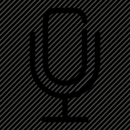 audio, mic, multimedia, music, speaker icon