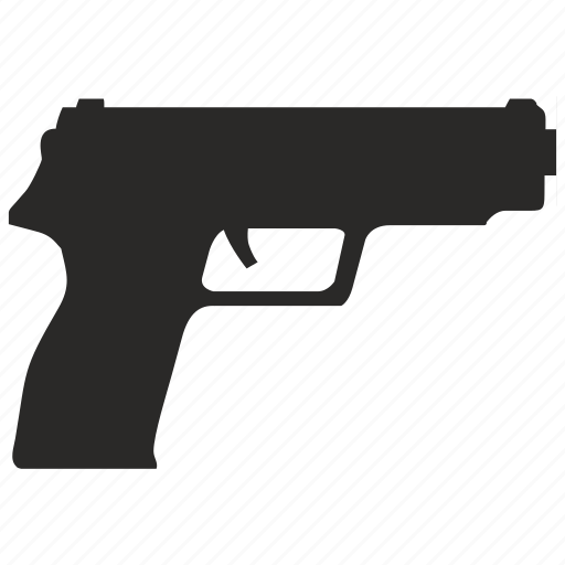 gun, hand, shoot, swat, tactic icon