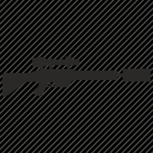 army, gun, shoot, shooting, sniper icon