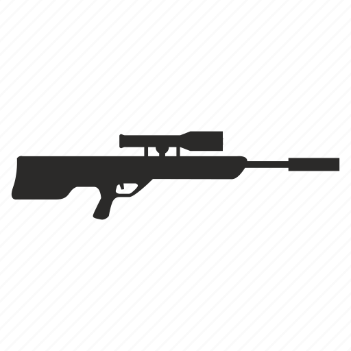 army, gun, sniper, weapon icon