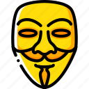 anonymous, fawkes, firework, guy, mask, night