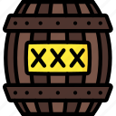 barrel, exposives, fireworks, guy fawkes, invention, tnt icon
