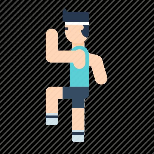 avatar, body, boy, exercise, fitness, gym, health icon