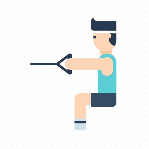 body, boy, exercise, fitness, gym, health, stretching icon