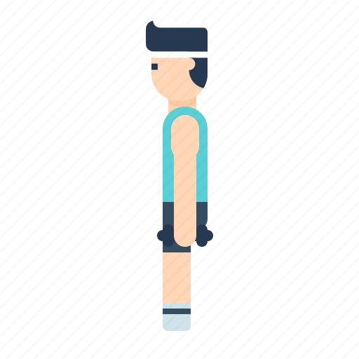 body, dumbbell, exercise, fitness, gym, health, weightlifting icon