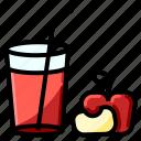 fresh, fruit, healthy, juice icon