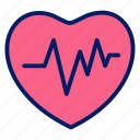 fit, gym, health, hearth, medical, pulse icon