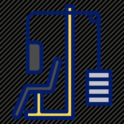 equipment, gear, gym, health, lift, weight icon