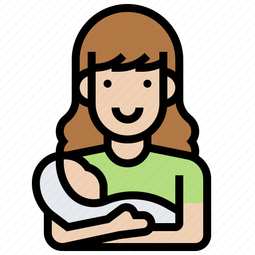 baby, gynaecology, mammal, mother, pregnancy icon