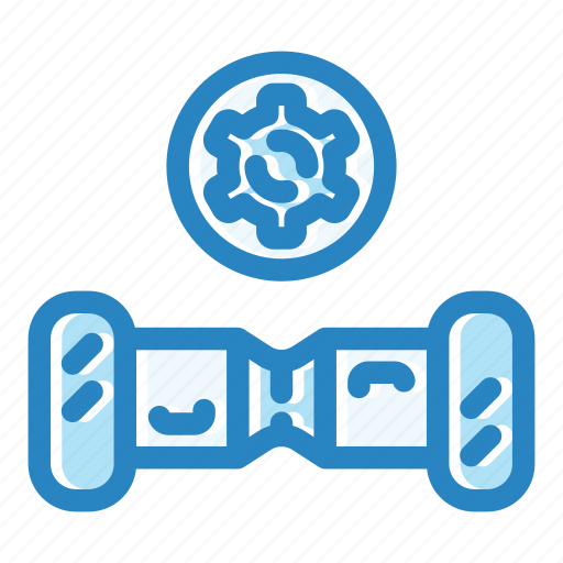 battery, board, electrical, gyroscooter, scooter, service, vehicle icon