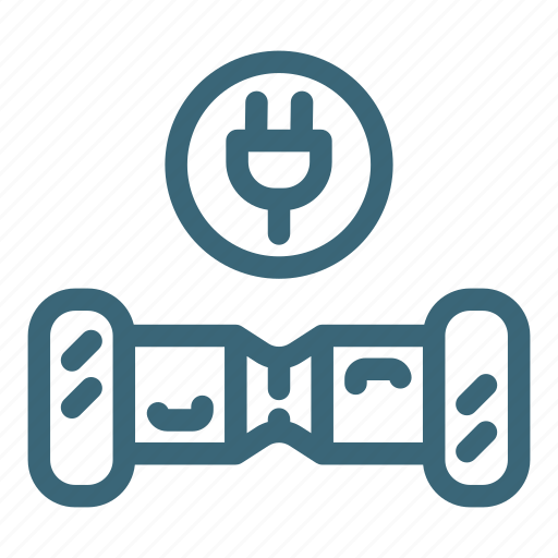 battery, charge, eco, electric, gyroscooter, power, scooter icon