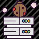 bug, sever, web icon