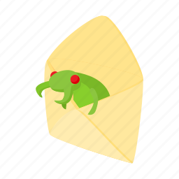bug, cartoon, computer, internet, letter, mail, virus icon