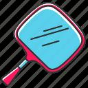 hand mirror, makeup, mobile, self, shaving, small, tool icon