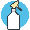 shower bottle, spray bottle, spray can, spray container, wiping sprayer icon