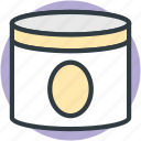 beauty cream, cream, cream container, cream jar, facial cream icon