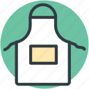 apron, apron bib, barber apron, chef uniform, cooking apparel icon