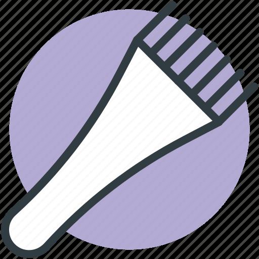 hair colouring, hair dye, hair dye brush, tinting, tinting brush icon