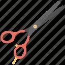 barber tool, hair cutting, salon equipment, scissor, spa shear icon