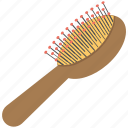 hair accessory, hair brush, hair care, hair comb, hair salon icon