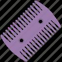hair care, hair comb, hair protection, head hygiene, lice comb icon