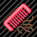 comb, hair, lost, transplant, transplantation