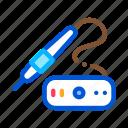extent, hair, tool, transplant, transplantation icon